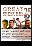Great Speeches Volume 25