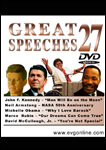 Great Speeches Volume 27