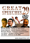 Great Speeches Volume 29