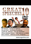 Great Speeches Volume 10