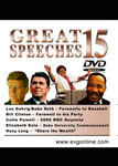 Great Speeches Volume 15